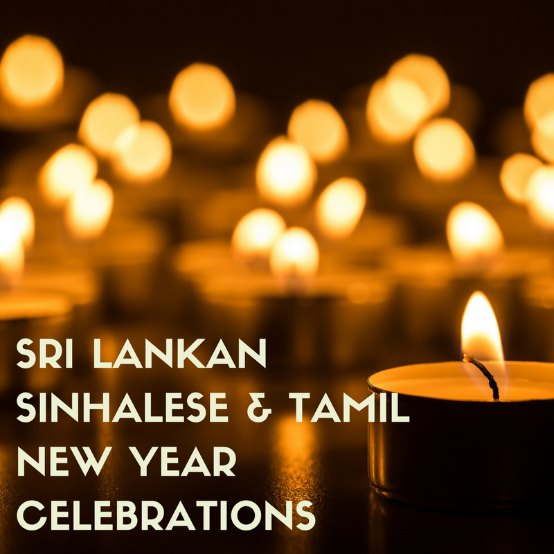 Sri Lankan Sinhalese and Tamil New Year's Celebrations.