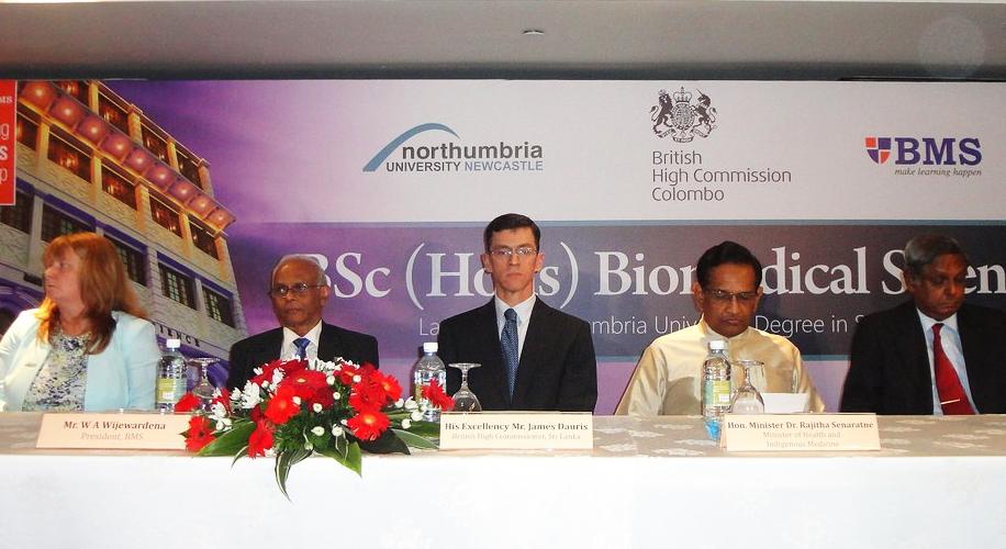 UK / Sri Lanka Higher Education Partnership develops Biomedical Scientists