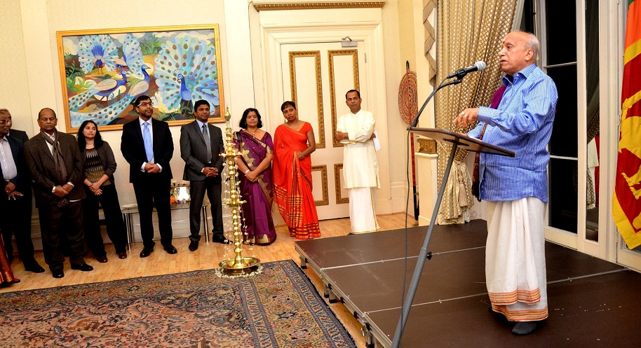 BRISLA attends Deepavali Festival of Light celebration at the High Commission of Sri Lanka in London