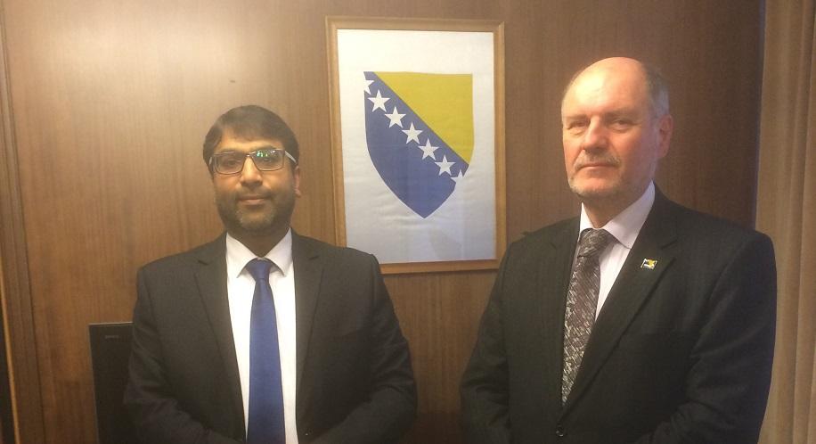BriSLA meets with Ambassador of Bosnia & Herzegovina to the UK